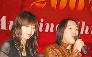 黄渤走红后,老婆小欧(左)与女儿的照片在网络曝光。台湾《中国时报》