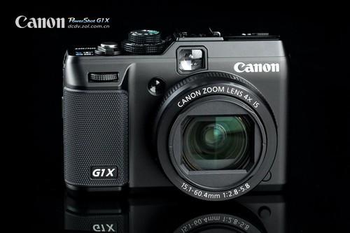 图为:佳能相机G1 X