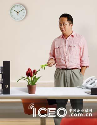 奇虎360董事长周鸿�t(图片来源:中国企业家网)