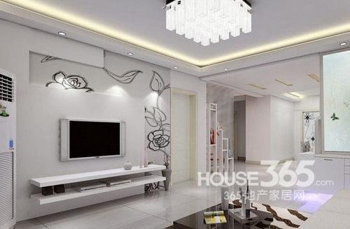 客厅电视背景墙图片 时尚潮流设计喜迎蛇年