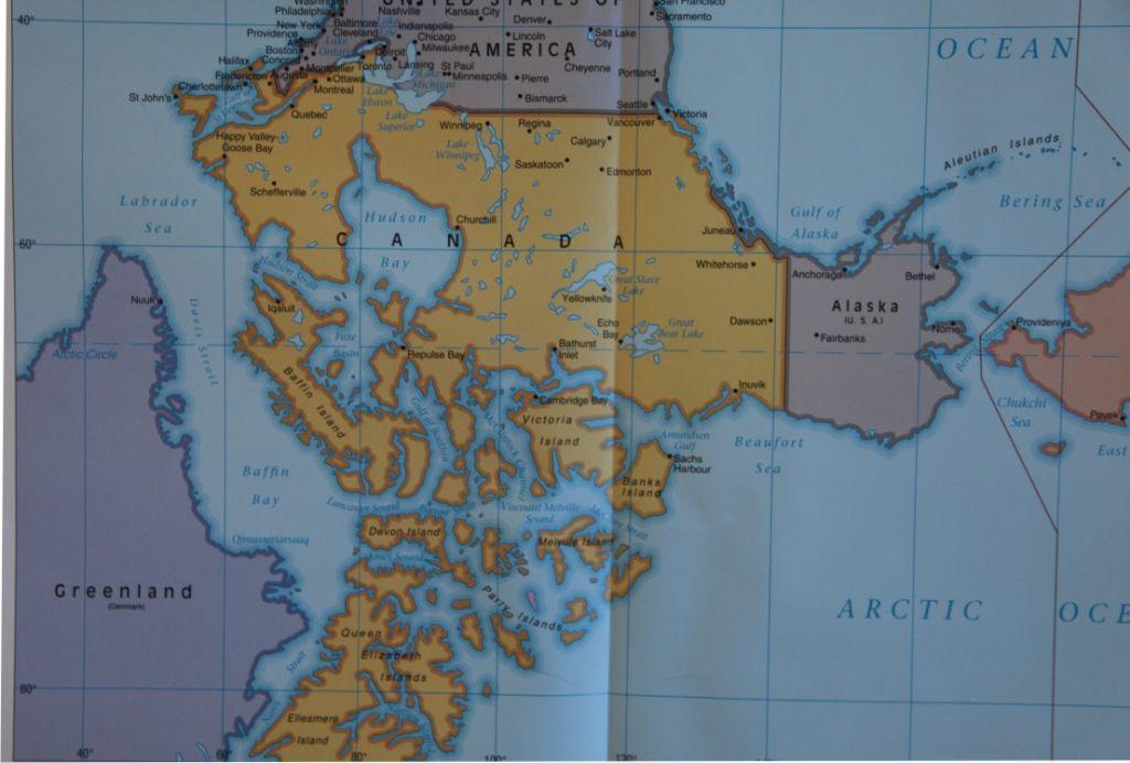 嵇少丞:圣诞老人与世界地图 瞧瞧南半球