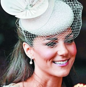 凯特王妃的假耳环引起一波膺品珠宝潮流