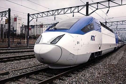 资料图:韩国型高速列车(KTX)