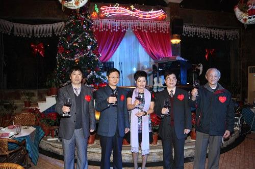 广东佛山市禅城区侨联举办侨界精英联谊晚会