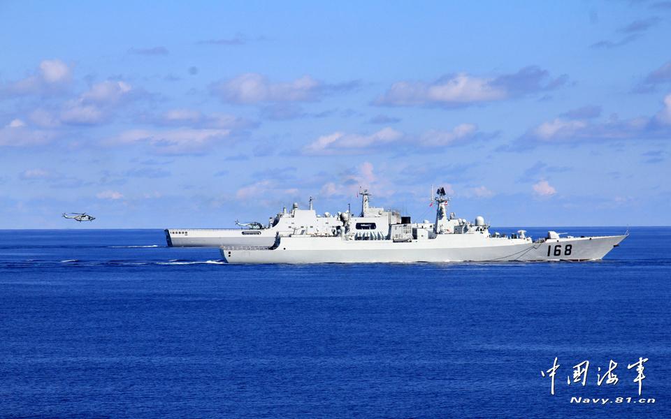 隶属海军南海舰队,是我国自行研制的最先进的一型护卫舰.