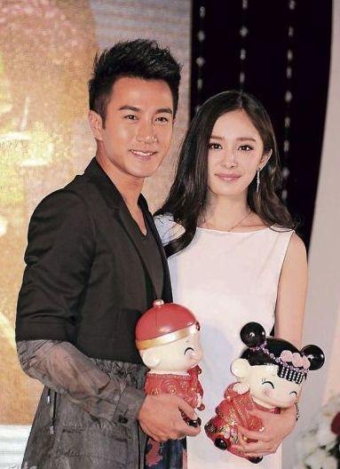 杨幂刘恺威结婚照伴娘图片