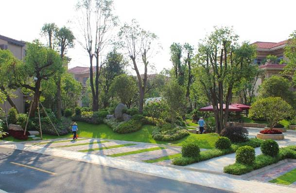 碧桂园天玺湾中央水景园林设计图片