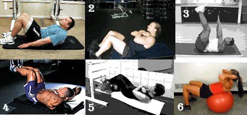 塑腹肌 用卷腹代替仰卧起坐