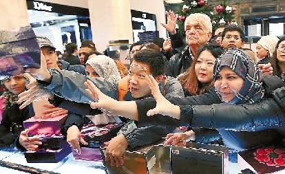英国节日大抢购 中国游客成主力(图)
