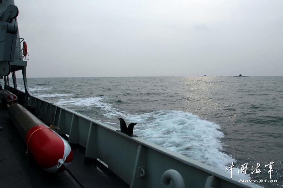 北海舰队/编队航行4