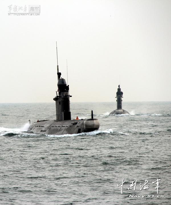 北海舰队/蛟龙入海