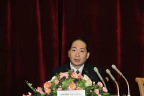 中国驻日本使馆发言人杨宇