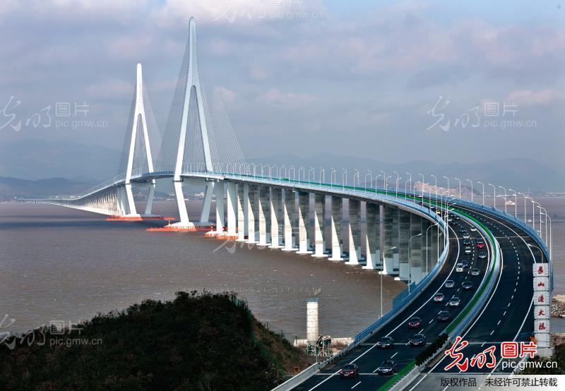 象山港大桥29日正式通车 抗风防撞均属国内最高