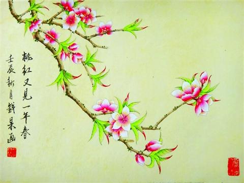 之花卉   【绝句试笔】 花落花开不为人   无框画新款|玫瑰花简笔画   如