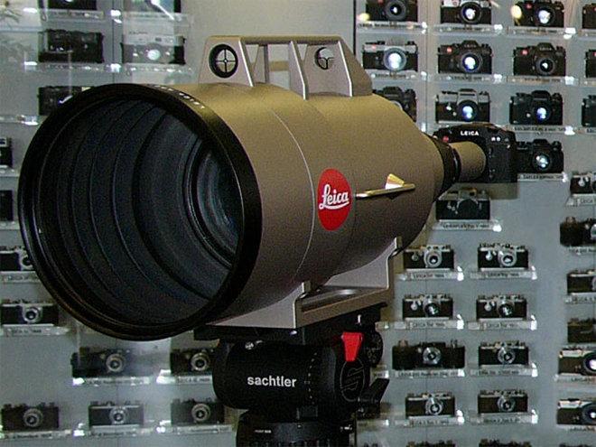 5、徕卡APO-Telyt-R 1600mm f/5.6镜头,200万美元