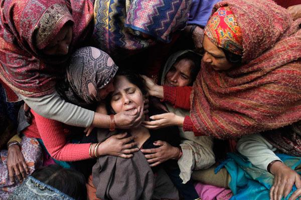 印度每22分钟就发生一起强奸案