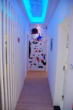 简约客厅手绘效果图 新潮设计为家画龙点睛