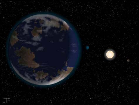 最新发现的潜在宜居行星HD 40307g