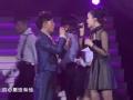 《2013浙江卫视跨年晚会》片花 邹宏宇范蓁蓁演唱《我的心里只有你没有他》