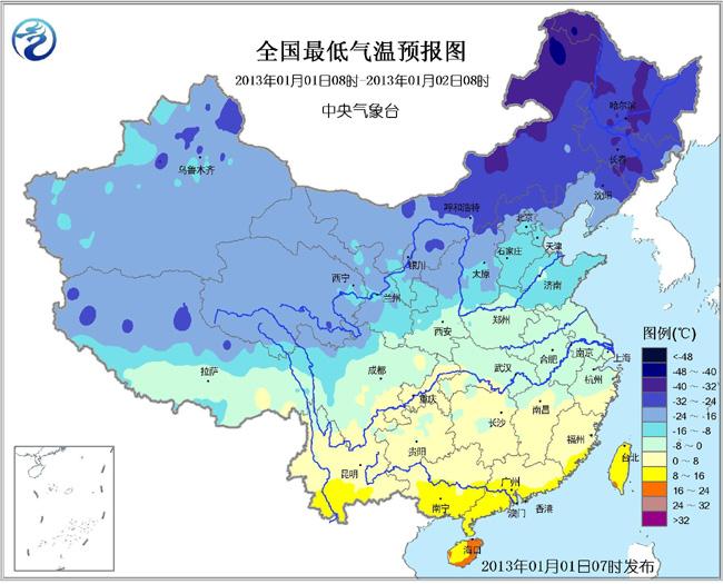 冷空气将影响中东部地区 南方将出现雨雪天气