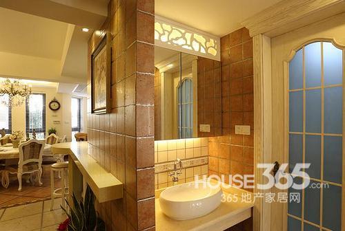 欧式别墅装修系统:新风后面的洗手台图片厨房怎么使用图片