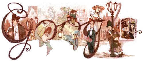 这是谷歌在10月31日(万圣节前夕)的涂鸦.-科技也有人情味 2012年