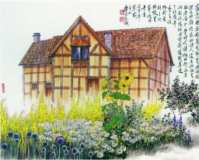 莎士比亚故乡的老屋