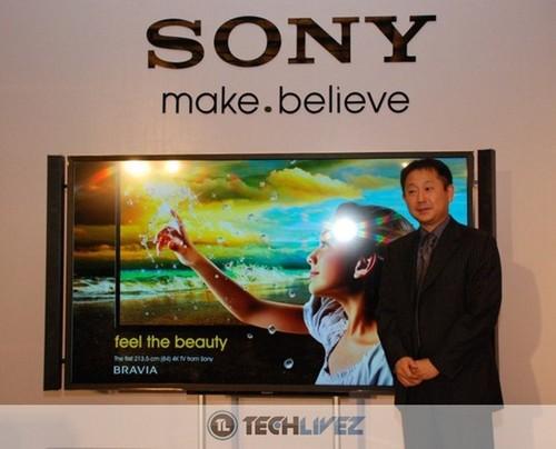 4k電視 索尼 夏普 索尼4K液晶電視X9000F用畫質續寫傳奇