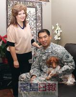 美国华裔将军分享晋升秘诀 最苦最难是远离家人