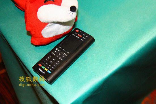 XT880遥控器背面