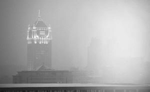 大雾袭城,长春空气质量亮起红灯