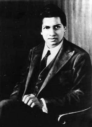 印度数学天才斯里尼瓦瑟-拉马努金