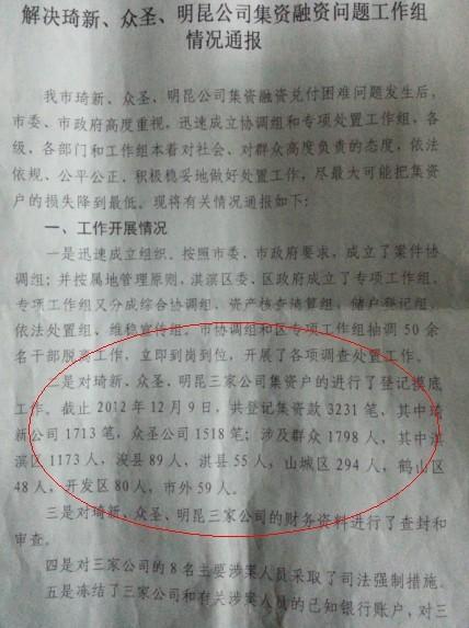 河南/媒体曝河南担保大案:算命先生圈钱3亿涉近2千人(组图)