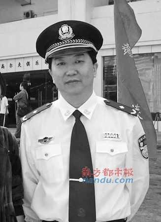 广州市公安局副局长祁晓林。资料图片