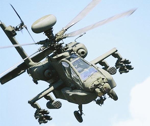 将售台阿帕奇直升机(图)