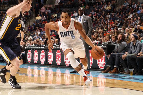 亨德森/图文:[NBA]爵士胜山猫 亨德森运球