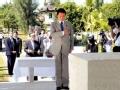 """日本副首相麻生太郎在缅甸""""拜鬼"""""""