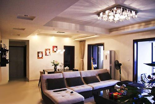 简约三室两厅装修图 126平米小家设计精彩多