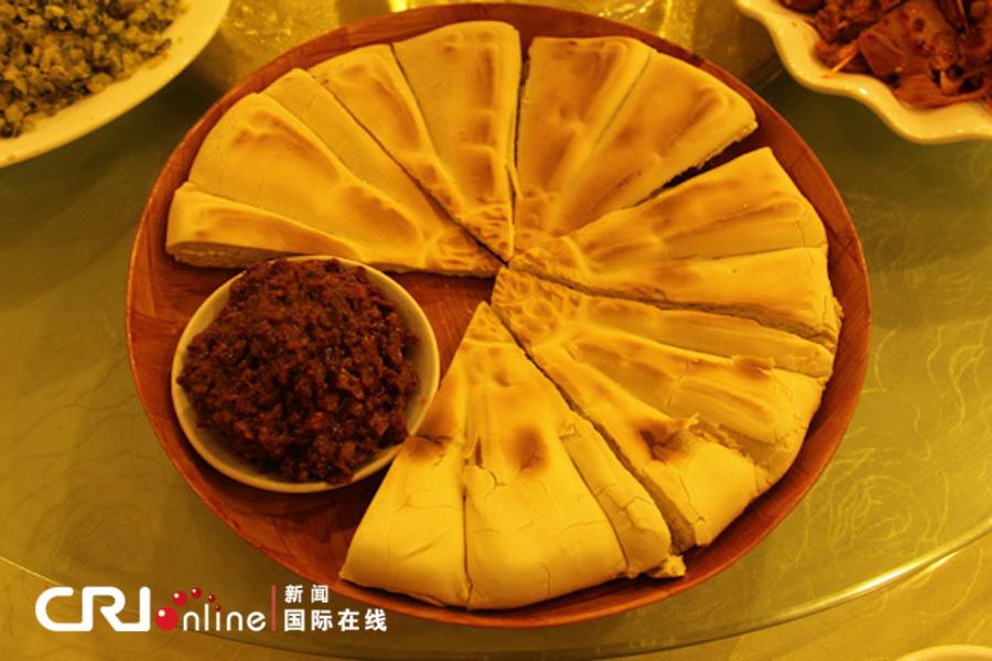 文化西安:走访美食古都中国v文化蒜蓉美食文化炸特色文化图片