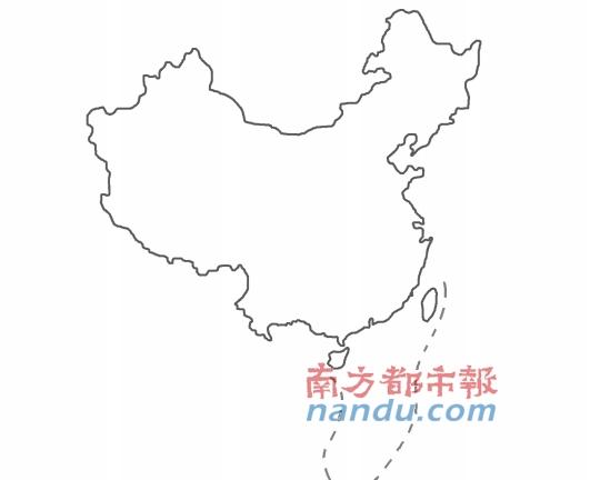 新版中国地图:首将南海诸岛与大陆同比例展示