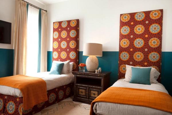 摩洛哥民族风室内设计 蓝色混搭风格家居(组图)图片