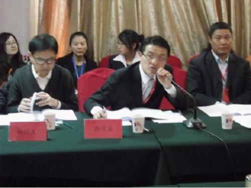 中国担保协会秘书长张信良会议沟通回答