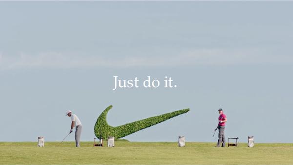 耐克創意廣告海報