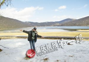 小文在玉龙雪山