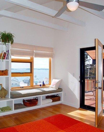 倚窗室内装修 10个齐窗小卧榻巧妙利用(组图)