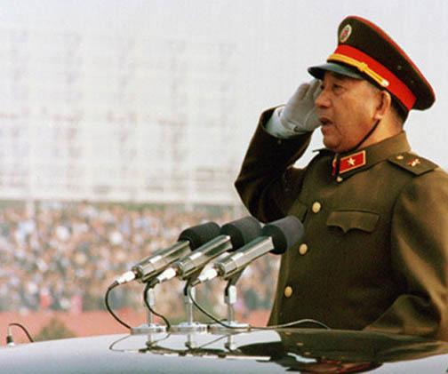 杨小平简历_盘点中共文革后首批授衔上将:杨白冰位列其中-搜狐军事频道