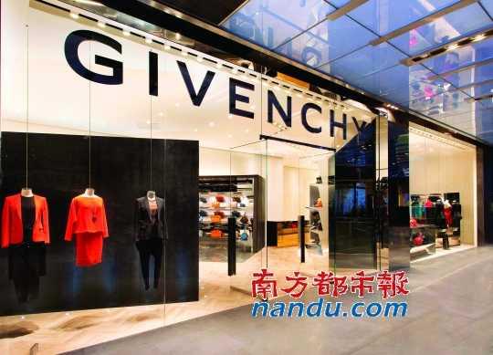 g ivenchy上海芮欧百货女装专卖店.图片