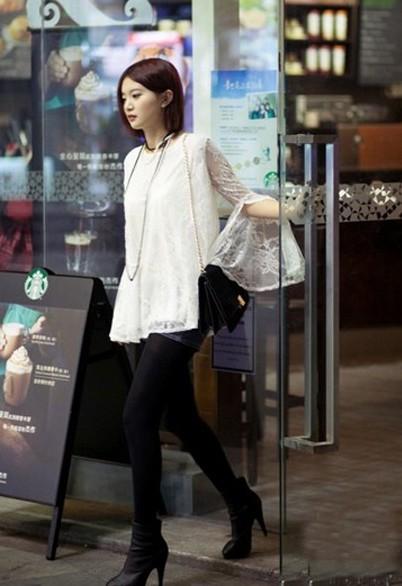 广州冬季美女街拍 搜狐女人