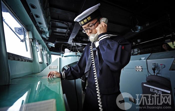 日舰艇编队与俄太平洋舰队演习