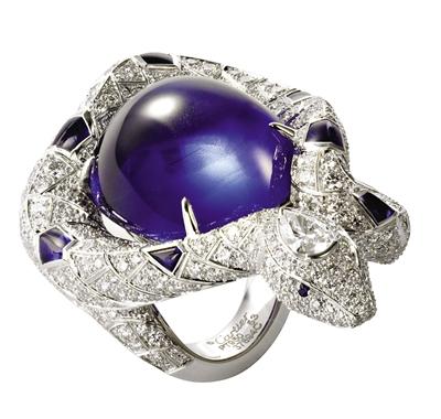 卡地亚高级珠宝戒指